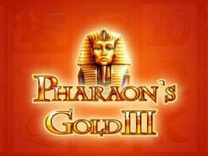 автомат pharaohs gold 3